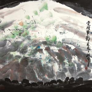 雪域剪影 by zhou shaohua