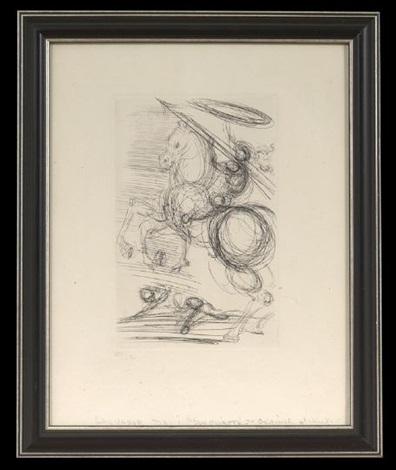 don quixote (2 works) by salvador dalí