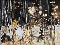 edge of the dark forest by jack leonard shadbolt