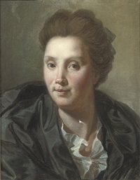 portrait of a lady by madeleine françoise basseporte