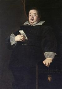 bildnis von giuliano ii. cesarini, herzog von civitanova marche by ottavio maria leoni