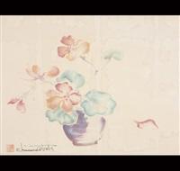 flowers by chiura obata