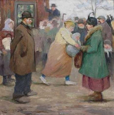 auction på bondebygden by karl johannes andreas adam dørnberger