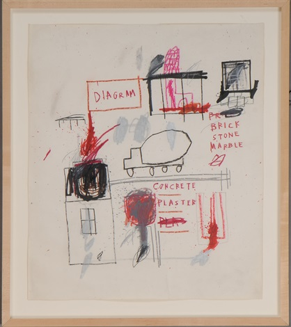 truck by jean michel basquiat