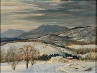 winter morning by frank gervasi