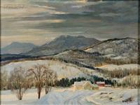 winter morning by frank gervasi