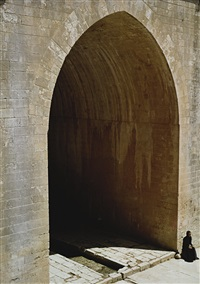 soliloquy series (arched doorway) by shirin neshat
