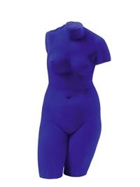venus bleue by yves klein