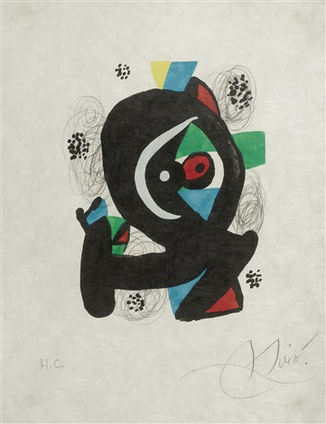 la mélodie acide by joan miró