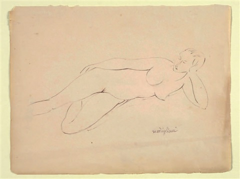 nudo disteso by amedeo modigliani
