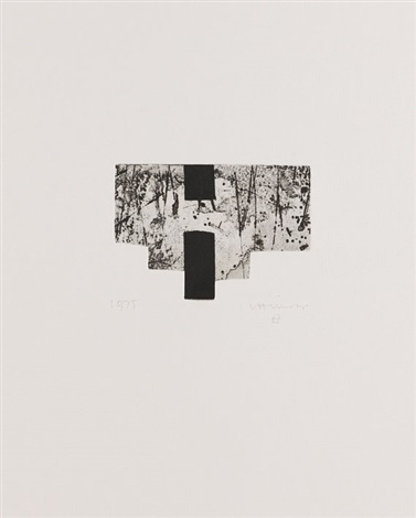 rem i pala, pl.viii (from bk by joan brossa a peu pel libre) by eduardo chillida