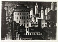 new york durant la nuit by edmund g. st.laurent
