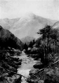 mountain stream by kazukuni wakun ishibashi