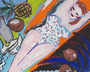 artwork by elvira bach