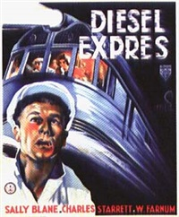 movie: sally blane in diesel express (the silver streak) by franciscus joseph eng mettes