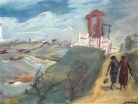 la cloche d'alarme de biarritz by henri-armand-georges jeanpierre