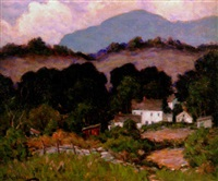 pennsylvania landscape by james p. mcrickard