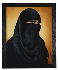 america (aya basemah, convert to islam) by andres serrano