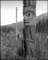 totem on the skeena by karl huber