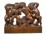 große faungruppe by franz barwig the elder