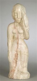 standing nude by bernard simon