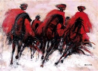 cavaliers des steppes by claude quiesse