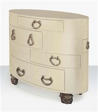 kawakubo, a chest of drawers by elizabeth garouste and mattia bonetti
