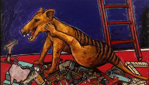 tasmanian tiger by daniel charles moynihan