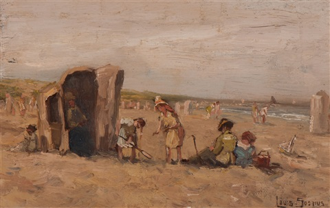 a day on the beach by louis soonius