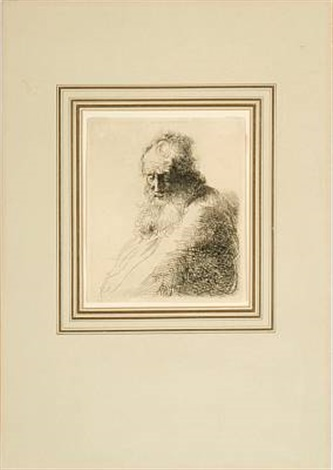 portrait of an old bearded man by jan andreas lievens the younger