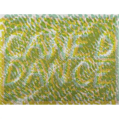 caned dance, from merce cunningham by bruce nauman