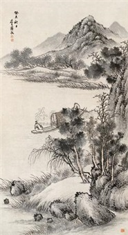 碧波泛舟 by jiang jing