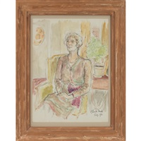 portrait of a lady by claude marks