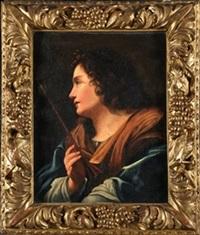 san sebastian by cristofano allori