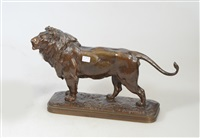 lion by alfred jacquemart