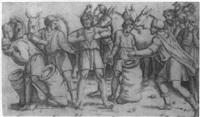 joseph's cup found in benjamin's sack by giovanni antonio da brescia