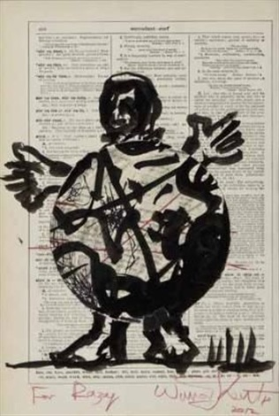 fat boy by william kentridge