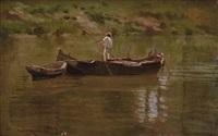 pescatore by alceste campriani