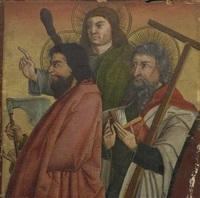 die apostel matthias, judas thaddäus und philippus by german school-southern (15)