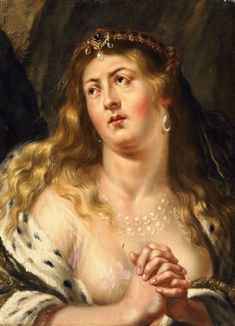 cleopatra by sir peter paul rubens