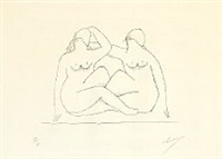 deux nus by henri laurens