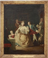 the toilette by pietro longhi