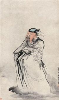孔子造像 by huang shen