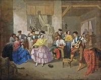 baile en un mesón by manuel cabral aguado bejarano