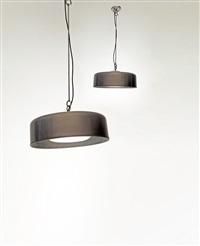 lampada a sospensione 2050 (2050 hanging lamp)(+ lampada a sospensione 2050; 2 works) by franca helg, antonio piva and franco albini