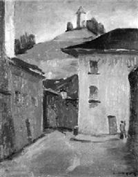 ruelle des augustins à fribourg by emile helfer