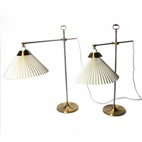 table lamps (pair) (model 319) by le klint