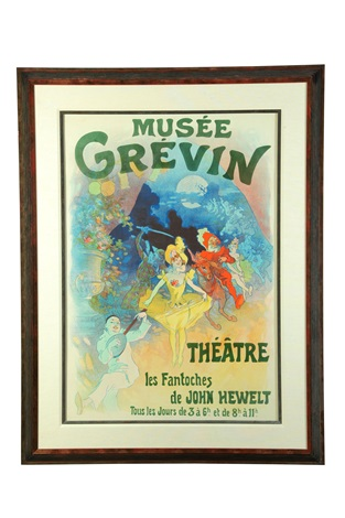 musee grevin theatre des fantoches by jules chéret