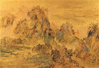 landscape by lin jinrong