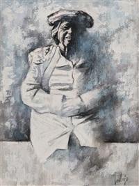 la madre del artista by francisco cortijo